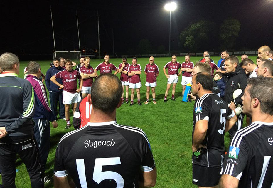Galway Masters Football side advance with impressive win