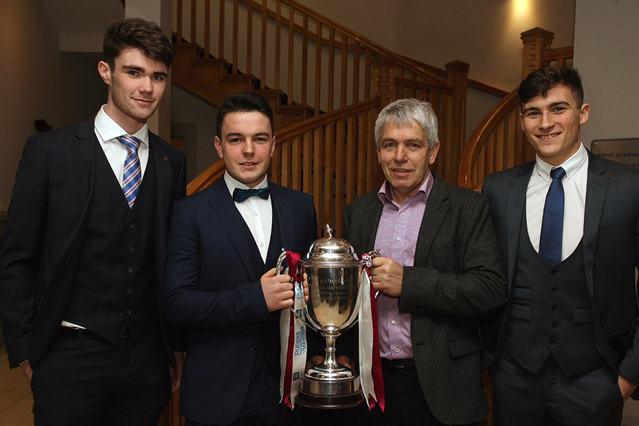 Galway Football Presentation of the 2016 Connacht Minor Medals ...