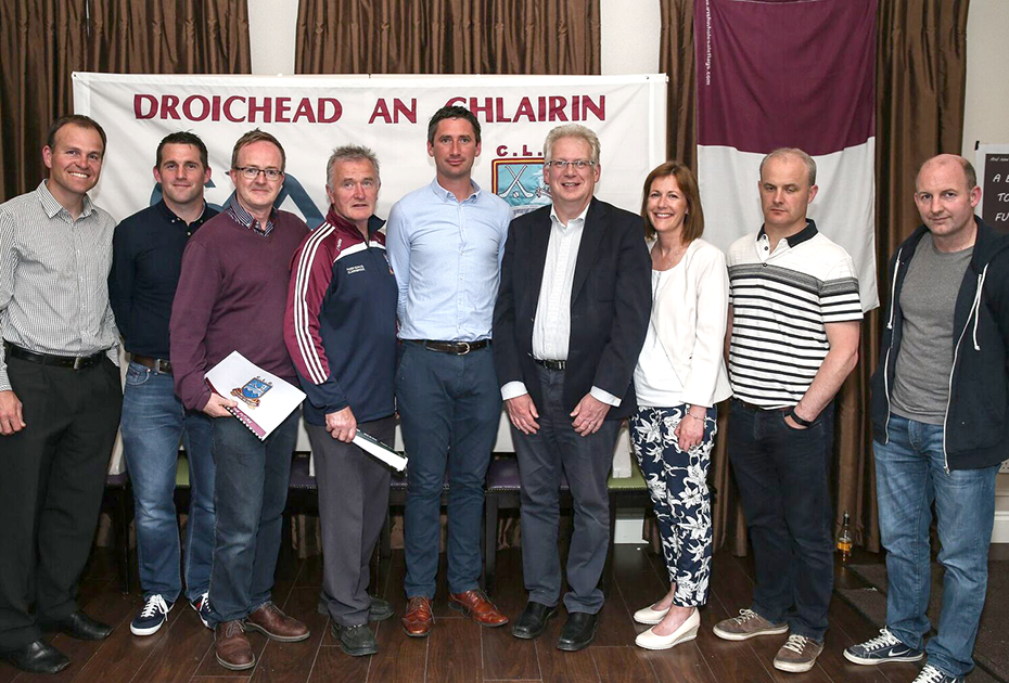 Clarinbridge GAA strategic Plan Launched at Club Function
