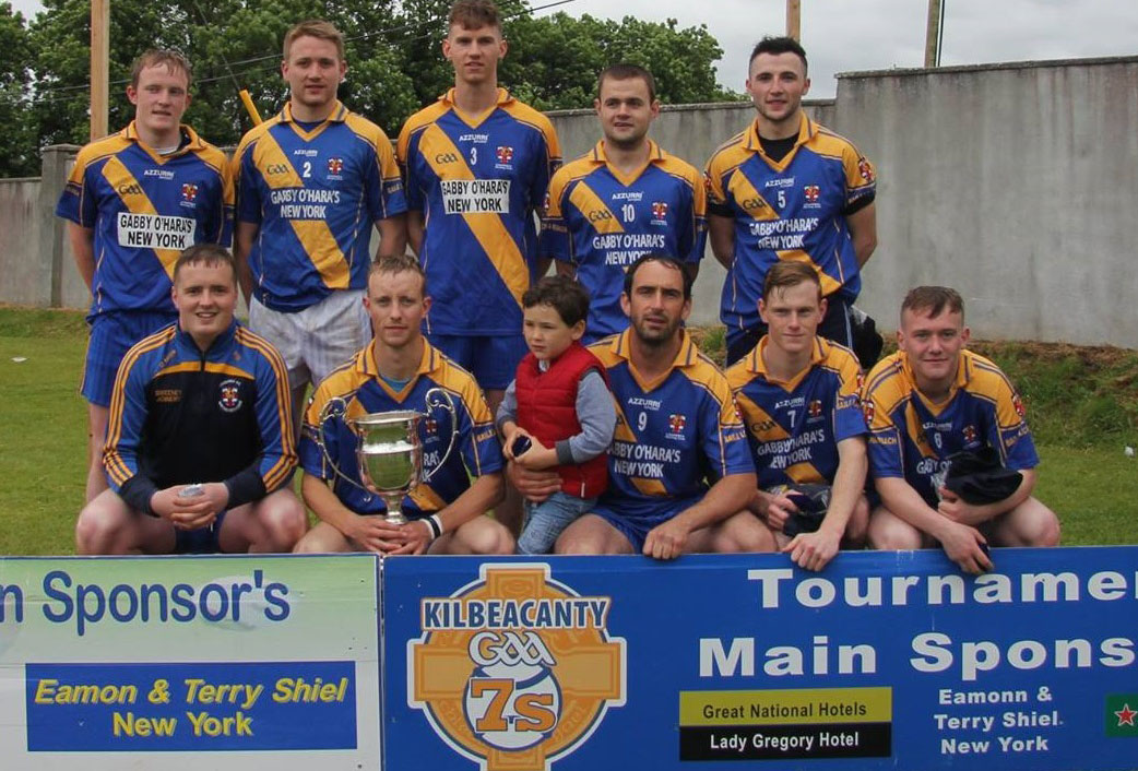 Loughrea reign supreme in Kilbeacanty Hurling 7's