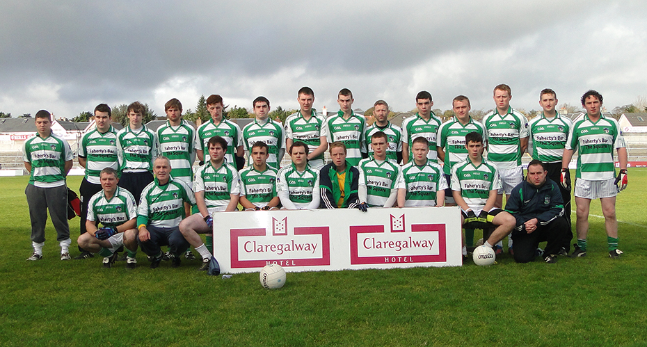 Oughterard Junior C County Champions