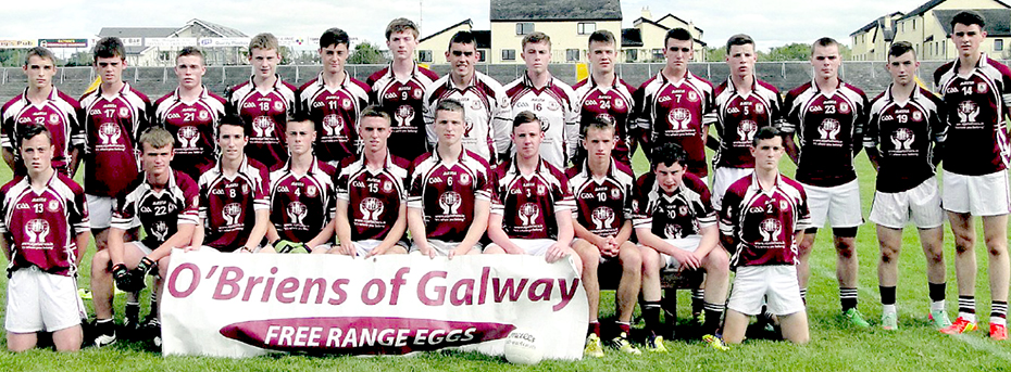 Annaghdown County Minor B North GPC Football Champions 2014