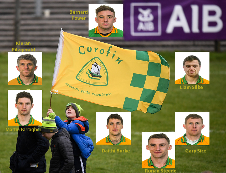 Corofin Club All Ireland team of the Year