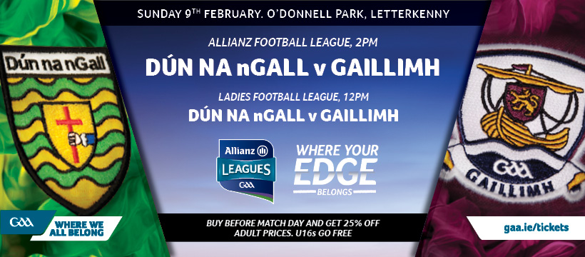 Donegal v Galway FB Cover
